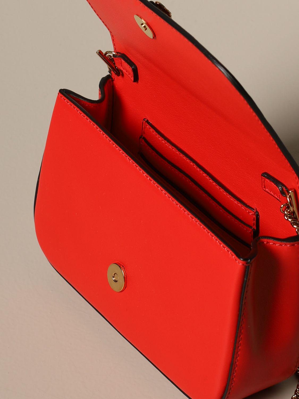 Mini bag Versace: Shoulder bag women Versace red 4