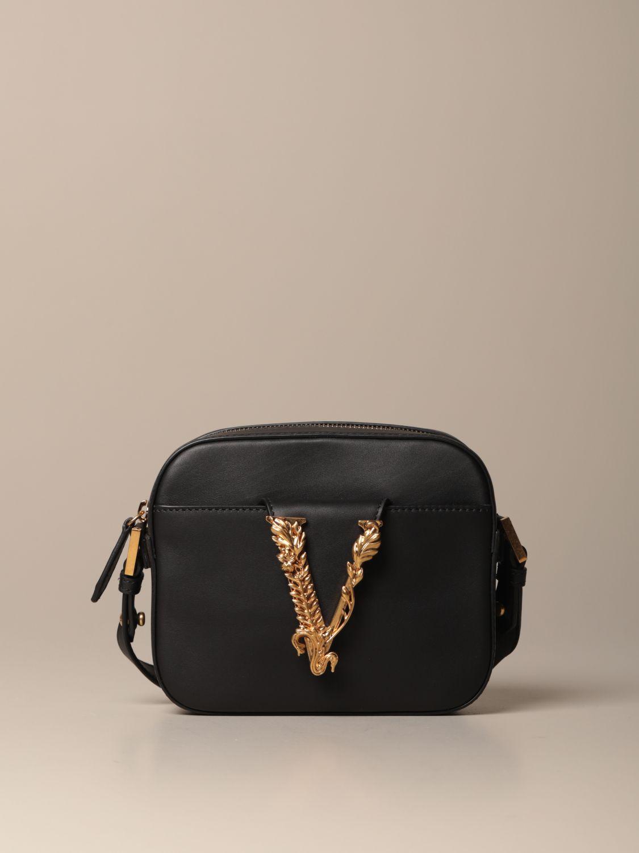 Mini bag Versace: Shoulder bag women Versace black 1