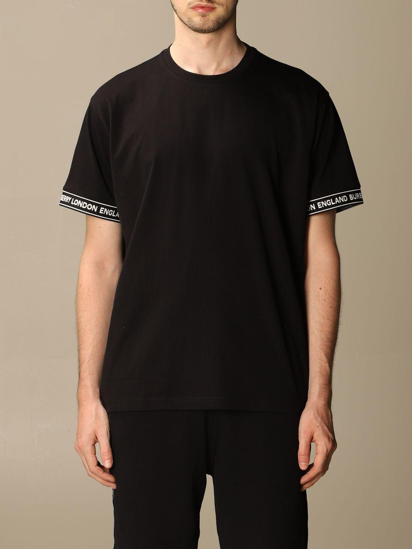 T-shirt Burberry: T-shirt men Burberry black 1