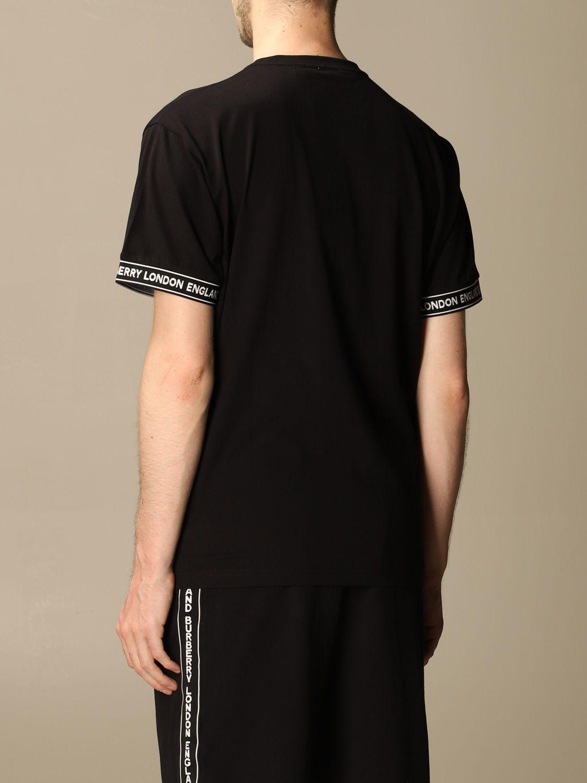 T-shirt Burberry: T-shirt men Burberry black 3