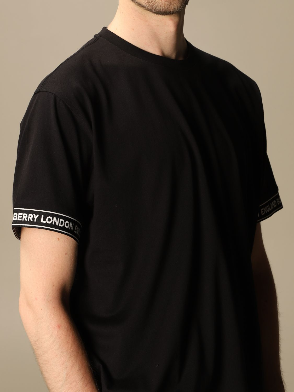 T-shirt Burberry: T-shirt men Burberry black 5