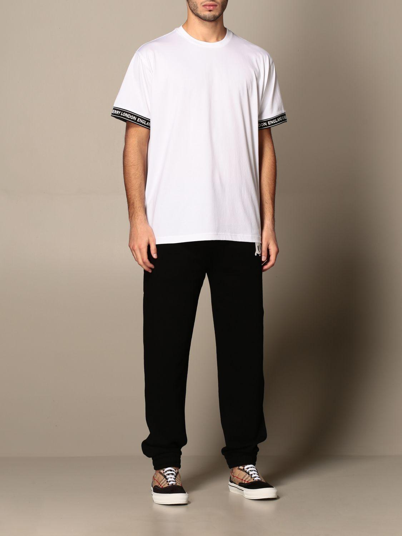 T-shirt Burberry: T-shirt homme Burberry blanc 2