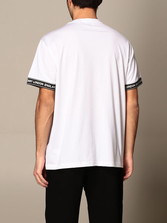 T-shirt Burberry: T-shirt homme Burberry blanc 3