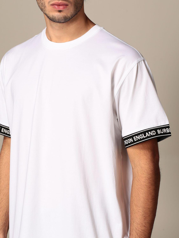 T-shirt Burberry: T-shirt homme Burberry blanc 4