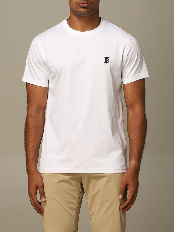 T-Shirt Burberry: T-shirt herren Burberry weiß 1