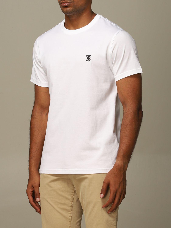 T-Shirt Burberry: T-shirt herren Burberry weiß 3