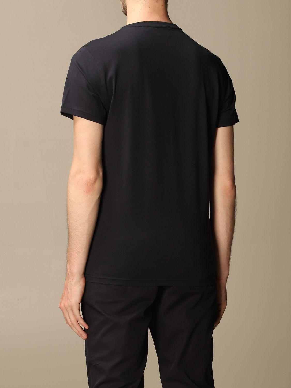 T-shirt Burberry: Parker Burberry stretch cotton T-shirt with TB monogram blue 3