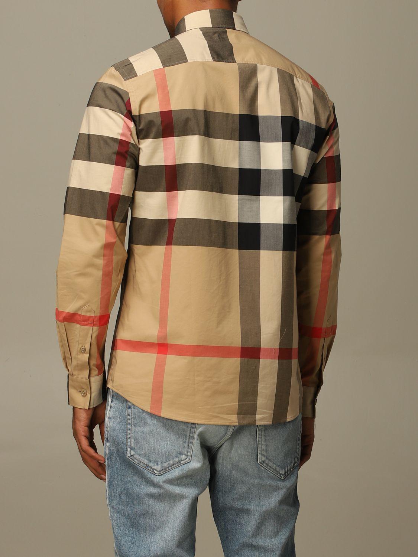Shirt Burberry: Shirt men Burberry beige 2