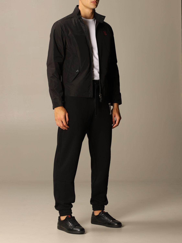 Jacket Burberry: Lincolnshire Burberry nylon sport jacket black 2