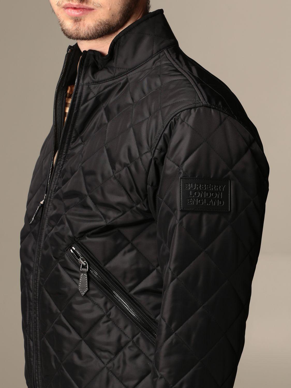 Veste Burberry: Veste homme Burberry noir 4