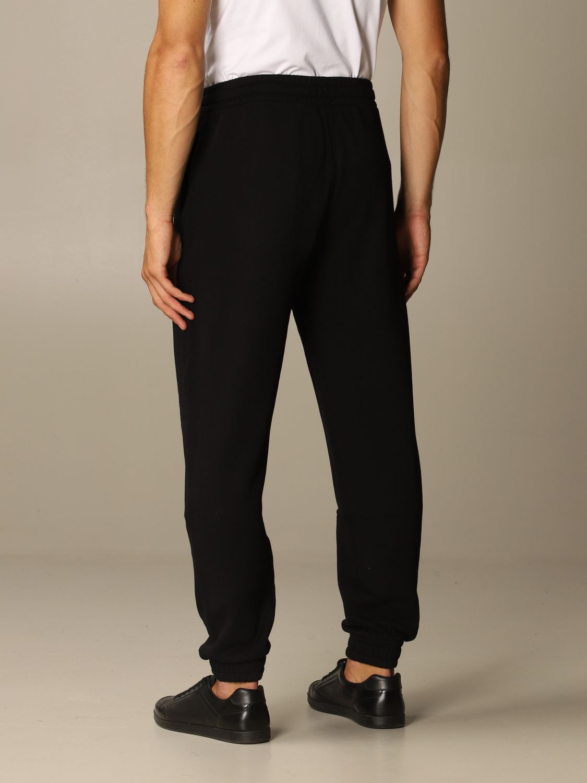 Trousers Burberry: Trousers men Burberry black 3