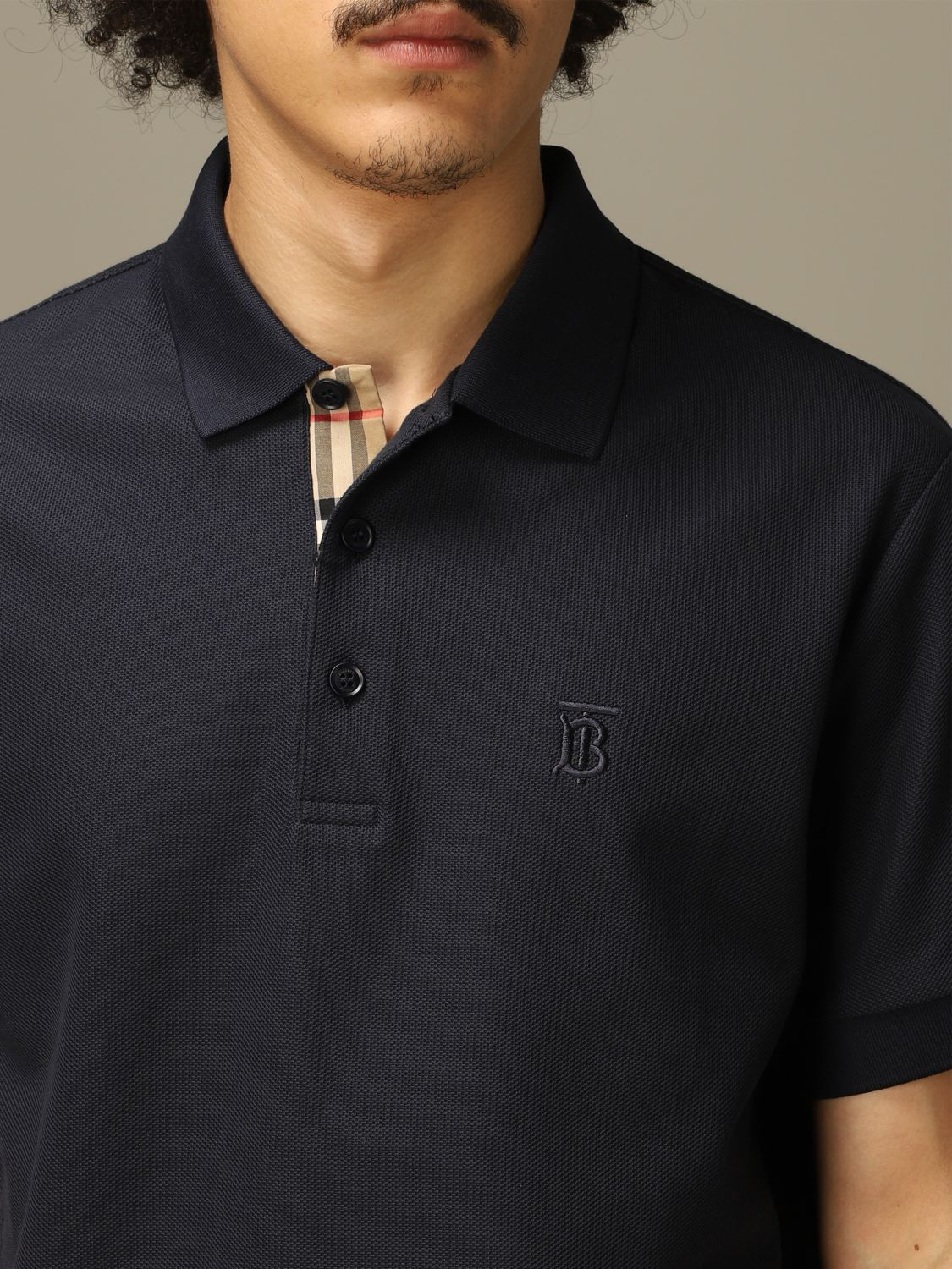 Polo Burberry: Polo herren Burberry blau 3