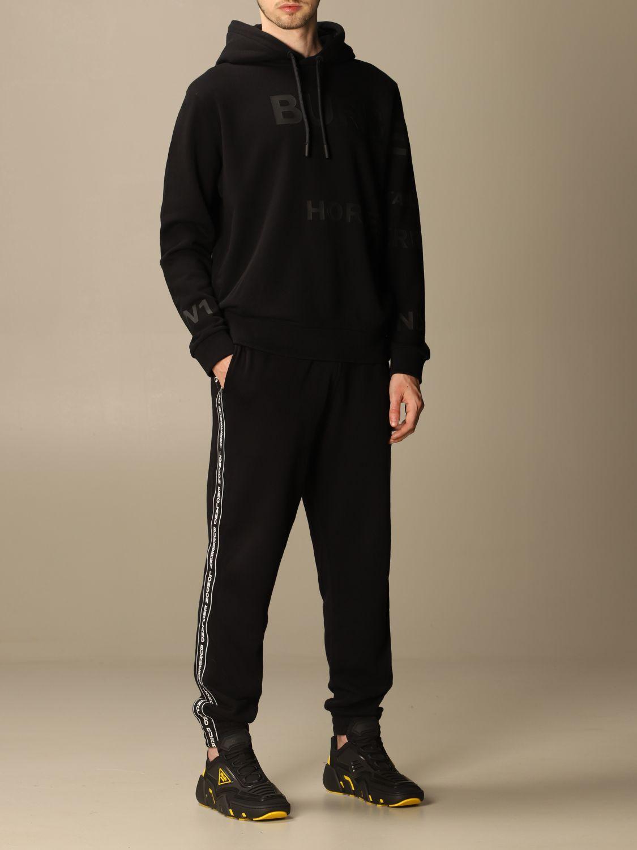 Sweatshirt Burberry: Sweatshirt homme Burberry noir 2
