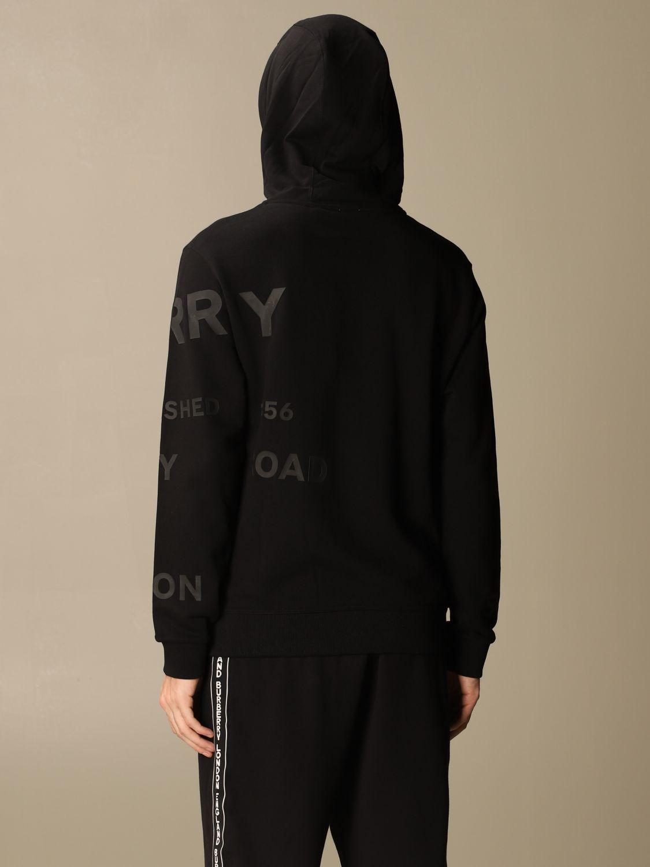 Sweatshirt Burberry: Sweatshirt homme Burberry noir 3