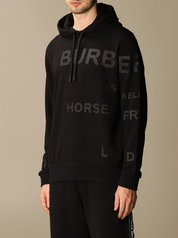 Sweatshirt Burberry: Sweatshirt homme Burberry noir 4