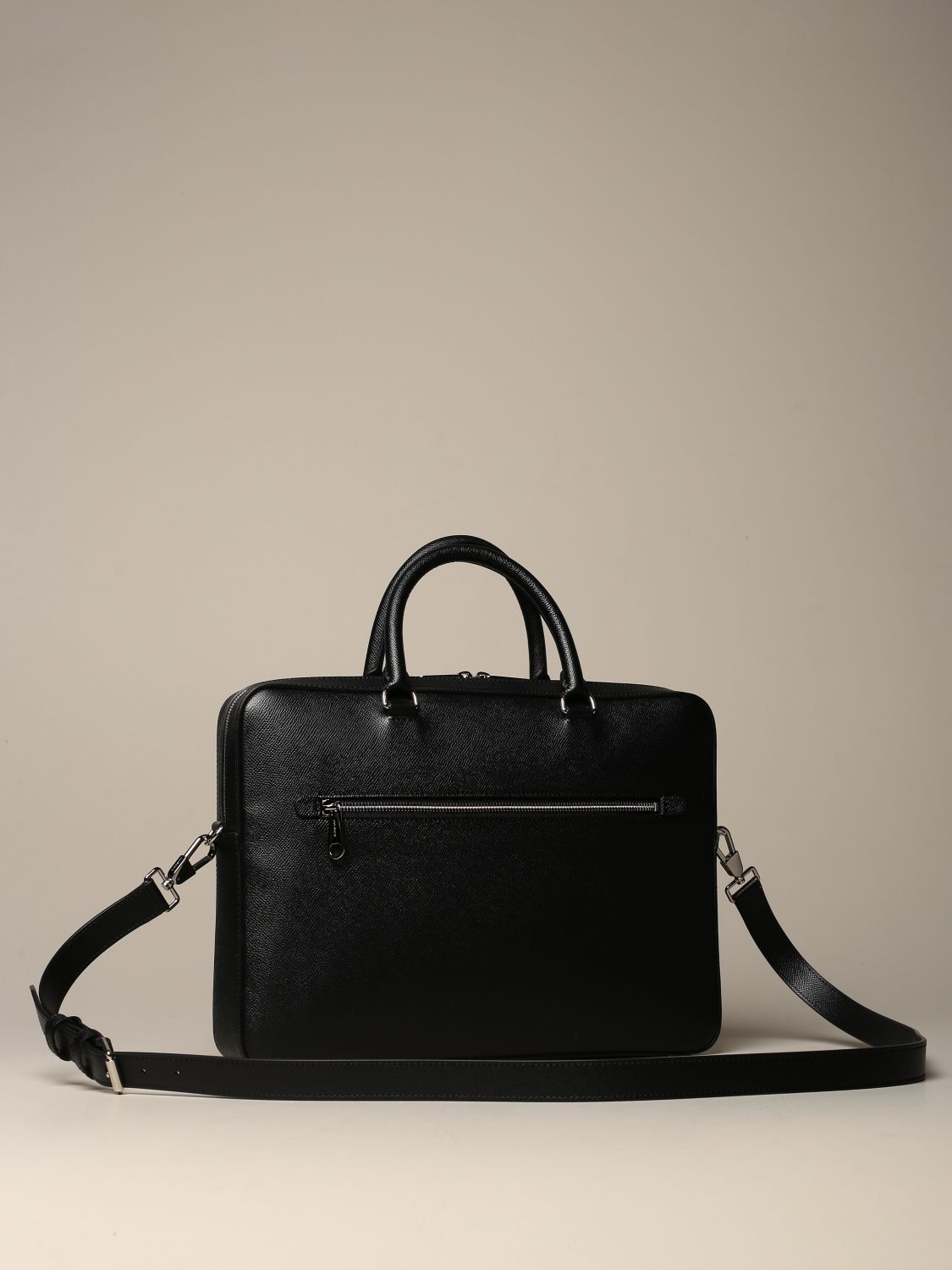 Bags Burberry: Burberry briefcase in grained leather black 2