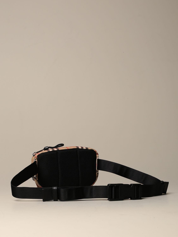 Belt bag Burberry: Cannon Burberry belt bag with vintage check motif beige 2