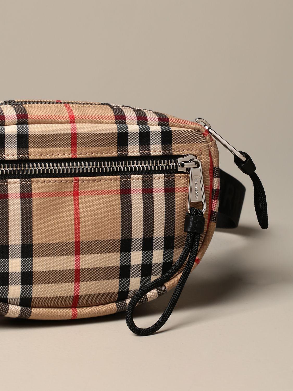 Belt bag Burberry: Cannon Burberry belt bag with vintage check motif beige 3
