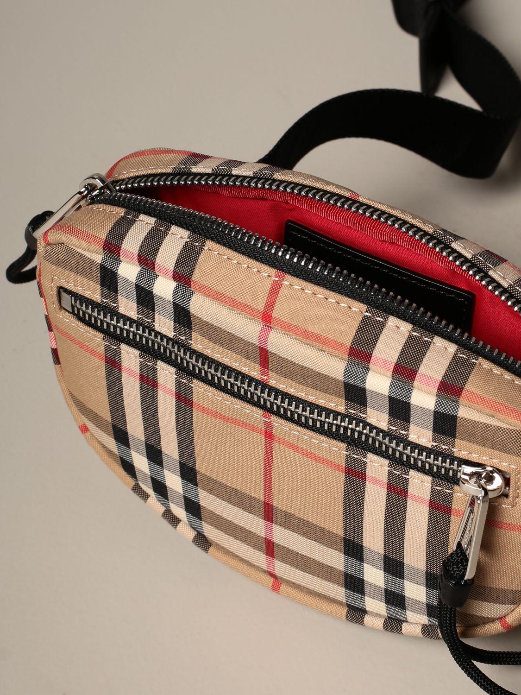 Belt bag Burberry: Cannon Burberry belt bag with vintage check motif beige 4