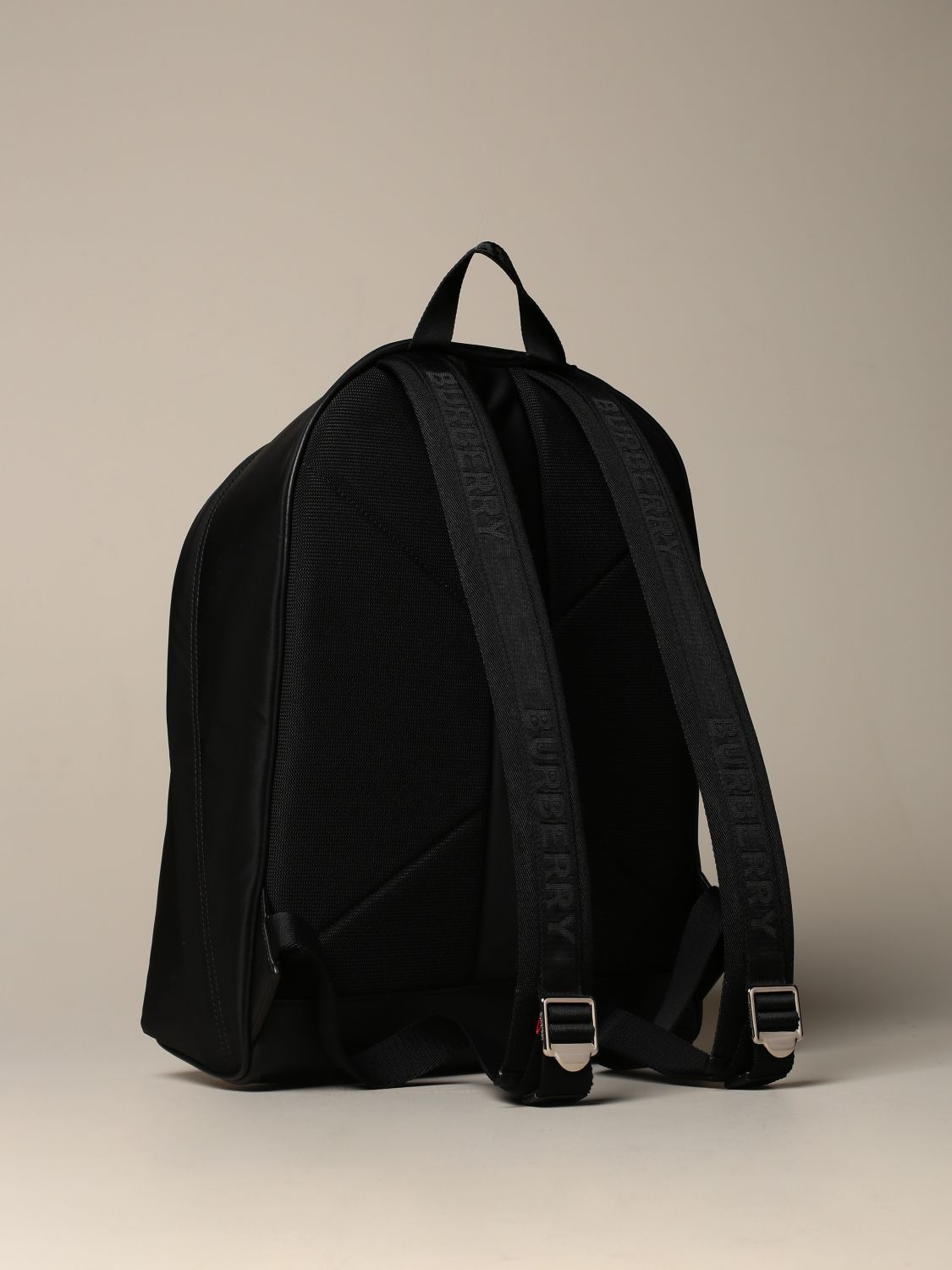 Backpack Burberry: Burberry eco-nylon backpack with London England logo black 2