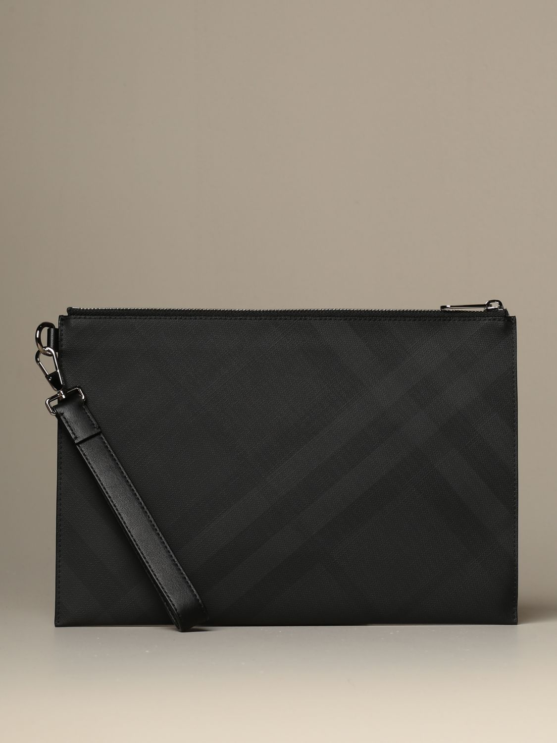 Wallet Burberry: Burberry pochette with London check motif lead 1