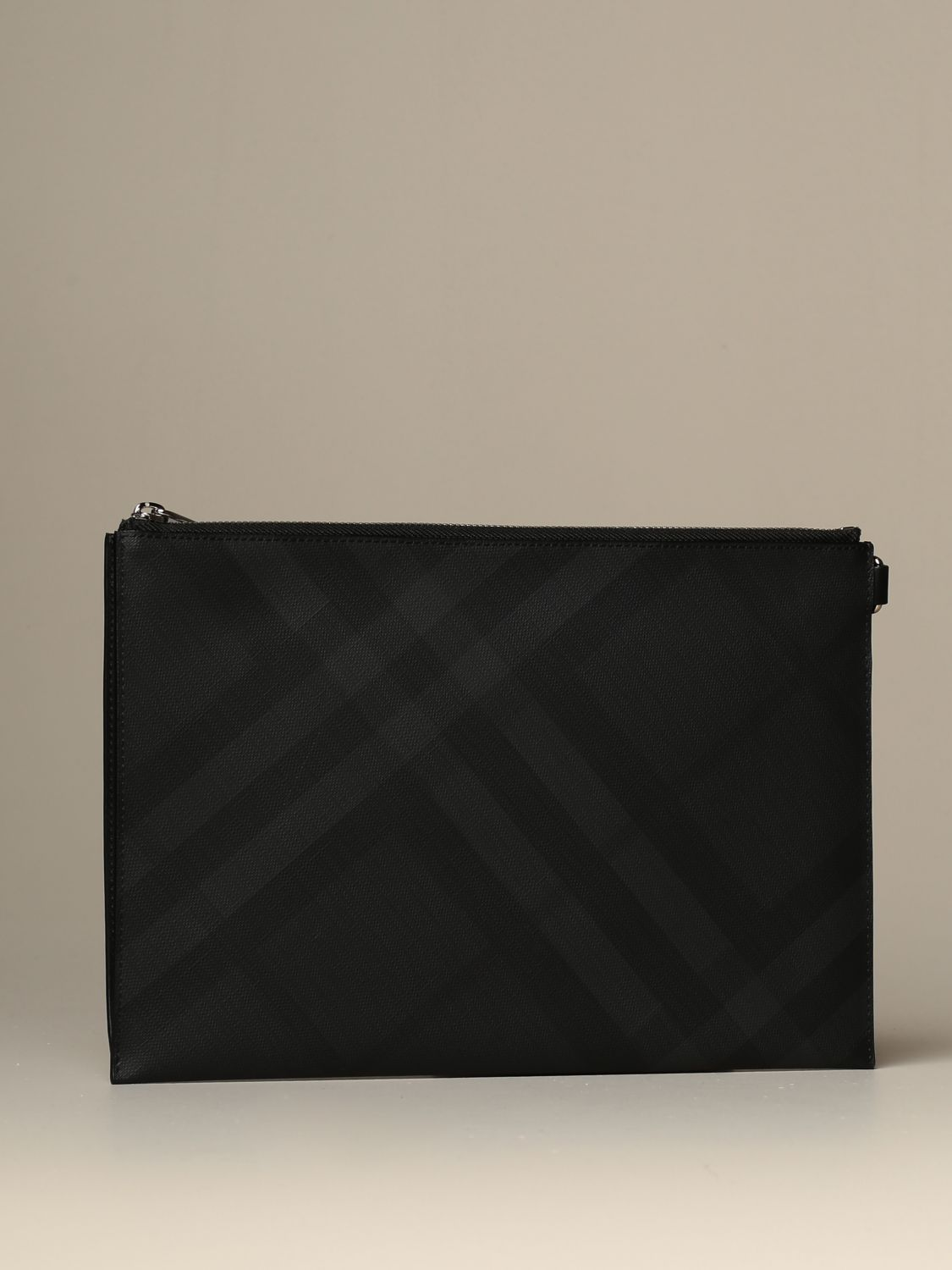 Wallet Burberry: Burberry pochette with London check motif lead 2