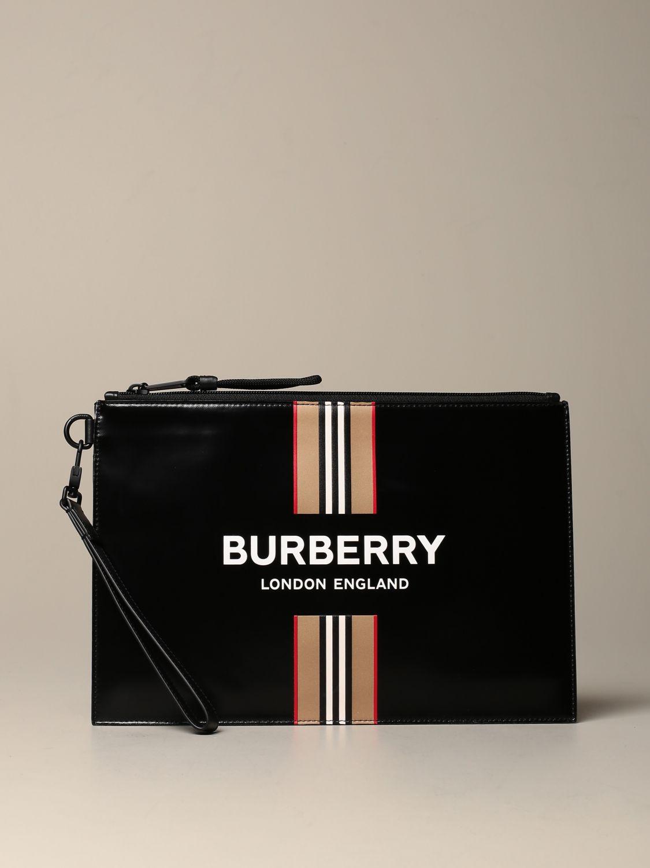 Maletín Burberry: Bolso hombre Burberry negro 1