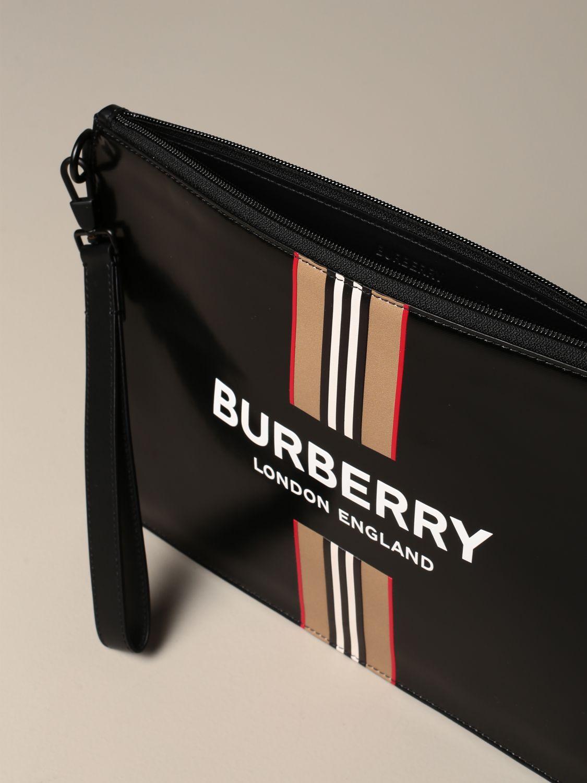 Maletín Burberry: Bolso hombre Burberry negro 3