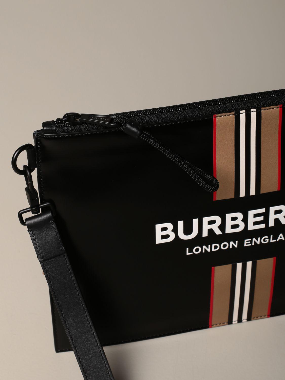 Maletín Burberry: Bolso hombre Burberry negro 4