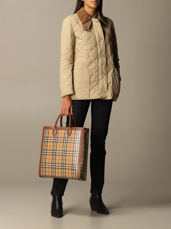 Shoulder bag Burberry: Bags men Burberry beige 5