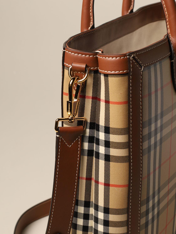 Shoulder bag Burberry: Bags men Burberry beige 3