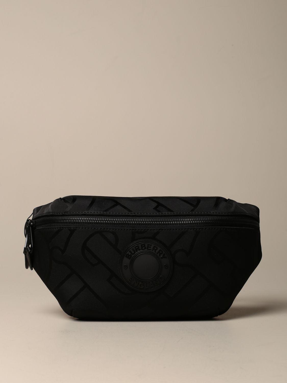Belt bag Burberry: Sonny TB Burberry belt bag with logo black 1