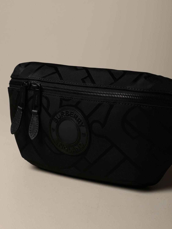 Belt bag Burberry: Sonny TB Burberry belt bag with logo black 4