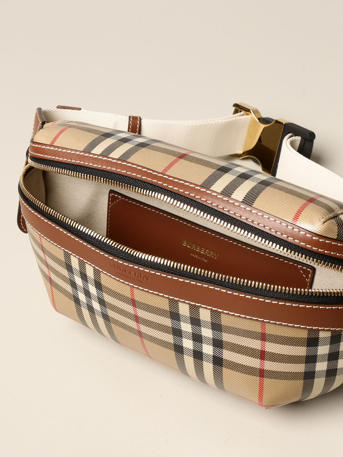 Bags Burberry: Bags men Burberry beige 5