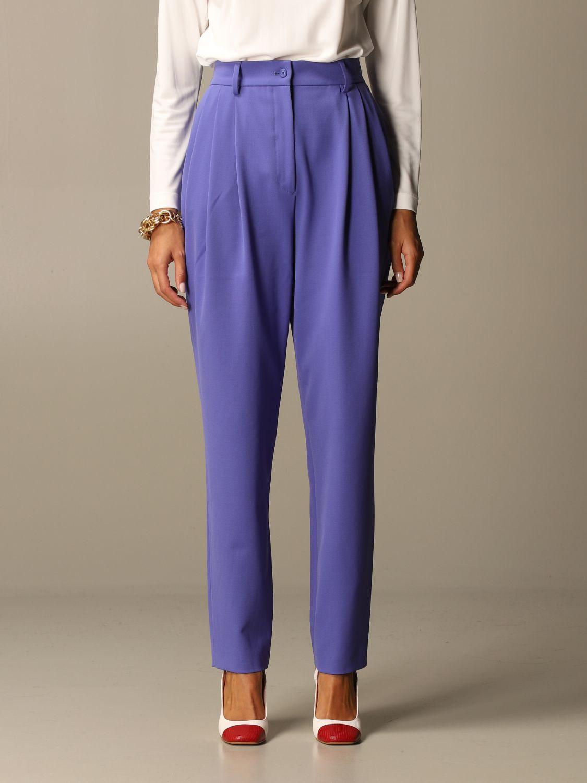 Trousers Alberta Ferretti: Trousers women Alberta Ferretti lilac 1