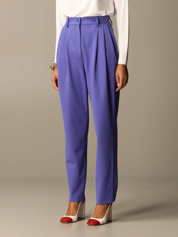 Trousers Alberta Ferretti: Trousers women Alberta Ferretti lilac 4
