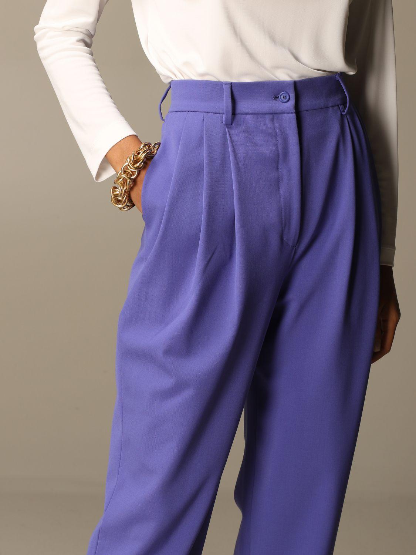 Trousers Alberta Ferretti: Trousers women Alberta Ferretti lilac 5