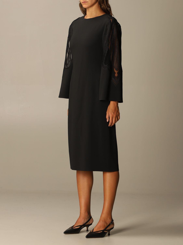 Платье Alberta Ferretti: Платье Женское Alberta Ferretti черный 3