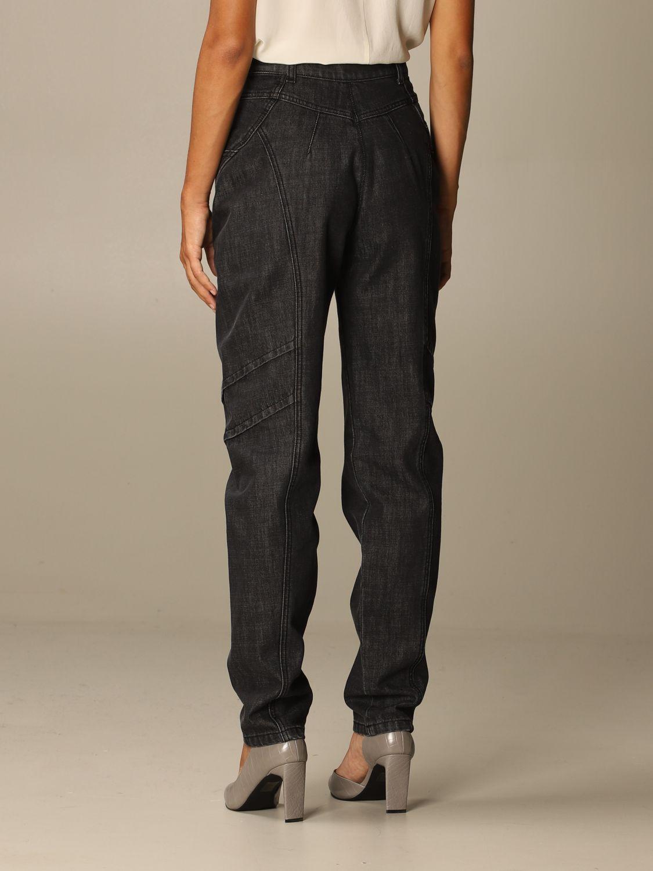 Jeans Alberta Ferretti: Jeans femme Alberta Ferretti gris 3