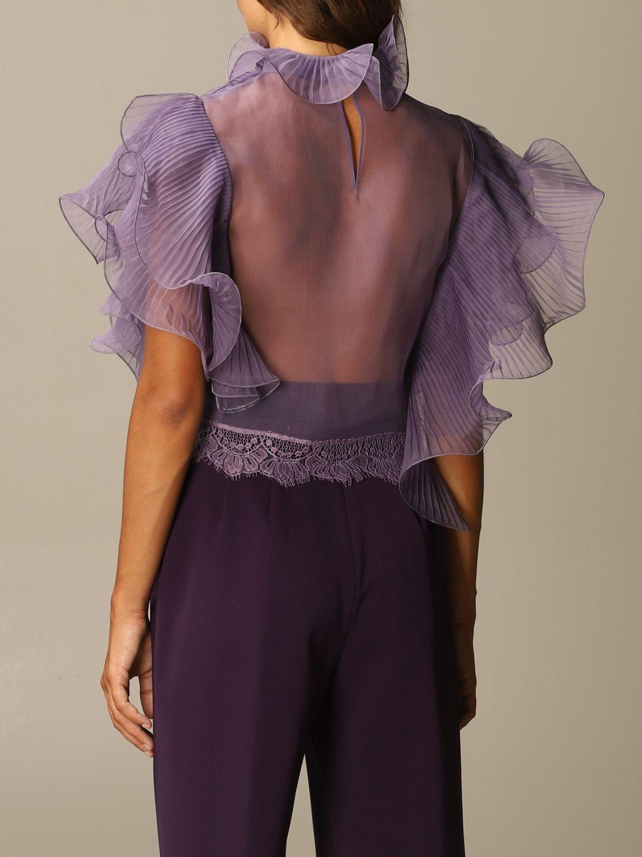 Top Alberta Ferretti: Top women Alberta Ferretti lilac 3