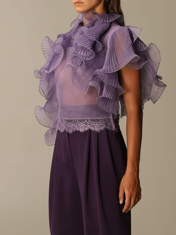 Top Alberta Ferretti: Top women Alberta Ferretti lilac 4
