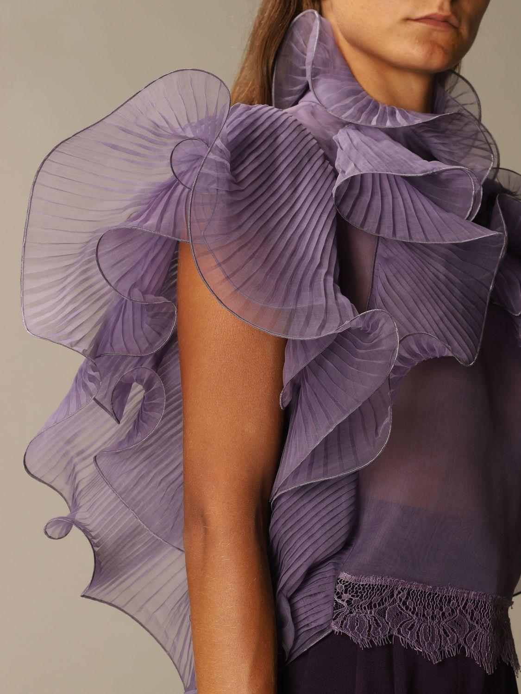 Top Alberta Ferretti: Top women Alberta Ferretti lilac 5