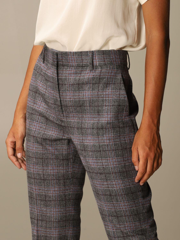 Pantalon Alberta Ferretti: Pantalon femme Alberta Ferretti gris 4