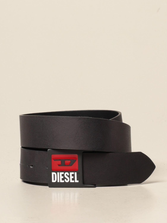 Ремень Diesel: Ремень Мужское Diesel черный 1