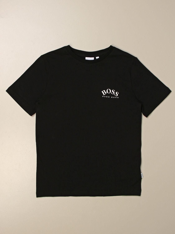 Camiseta Hugo Boss: Camiseta niños Hugo Boss negro 1