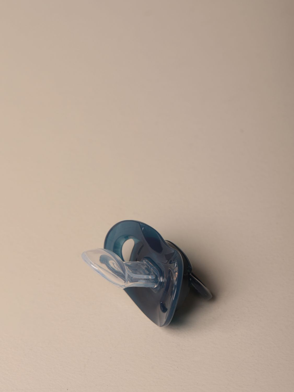 Pacifier Hugo Boss: Hugo Boss silicone pacifier with logo blue 2