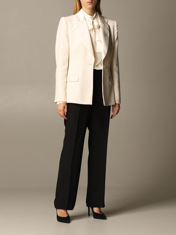 Blazer Alberta Ferretti: Blazer femme Alberta Ferretti gris 2