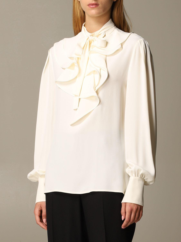 Camisa Alberta Ferretti: Camisa mujer Alberta Ferretti gris 3