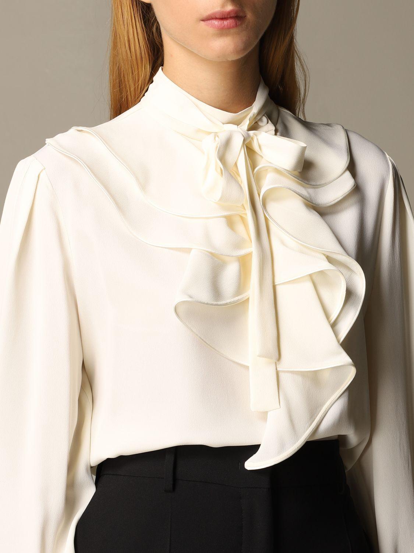 Camisa Alberta Ferretti: Camisa mujer Alberta Ferretti gris 4