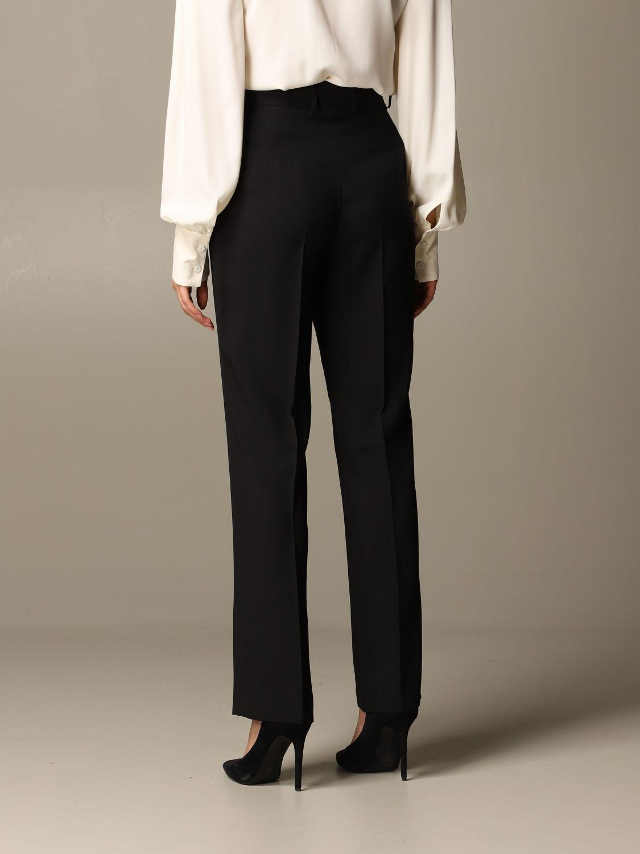 Pantalon Alberta Ferretti: Pantalon femme Alberta Ferretti noir 3